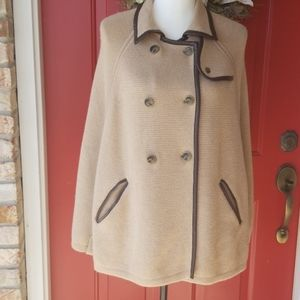 Loft tan cape, new without tags